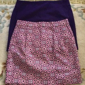Bundle of 2 J.Crew skirts